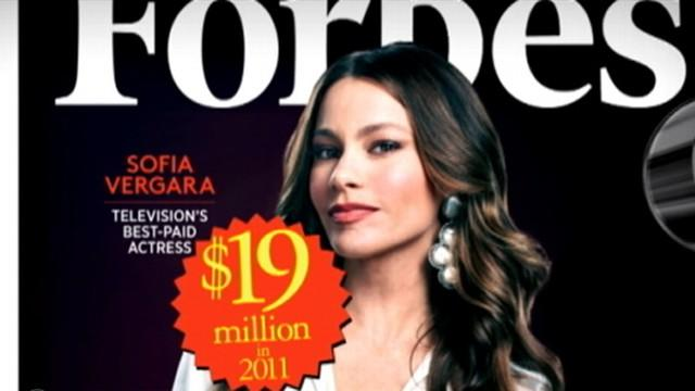 Sofia Vergara Named Highest-Earning Woman in TV By Forbes Magazine
