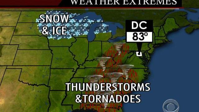 Deadly spring storm in Midwest, South