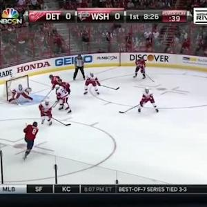 Jimmy Howard Save on Alex Ovechkin (11:36/1st)