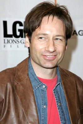 David Duchovny Tribeca Film Festival, May 8, 2004