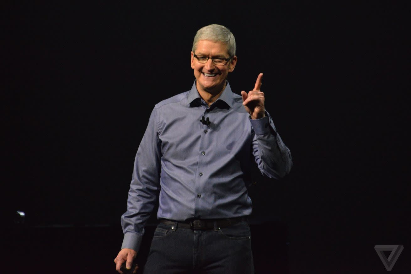 Tim Cook deleted his blurry Super Bowl photo