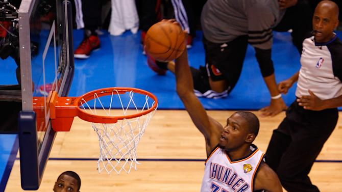 Miami Heat v Oklahoma City Thunder - Game One