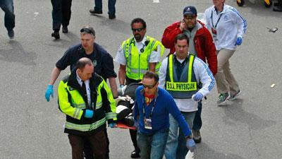 Witnesses Describe Boston Marathon Blasts
