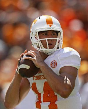 Tennessee names Justin Worley Vols' starting QB