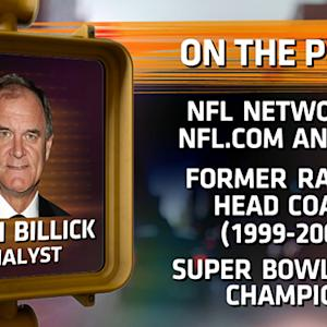 Brian Billick talks Eli Manning and Joe Flacco