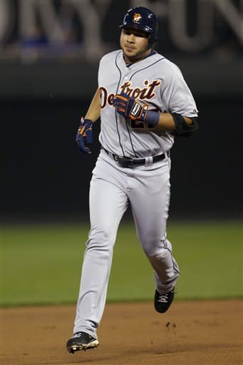Tigers beat Royals 6-3 to clinch AL Central title