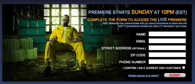 How to Watch 'Breaking Bad' Premiere Live Online
