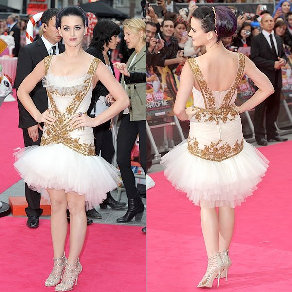 Katy Perry Is Pretty As A Ballerina At London 'Part of Me' Premiere