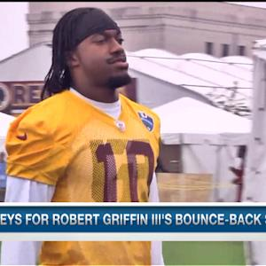 Keys for Washington Redskins quarterback Robert Griffin III's bounce-back season