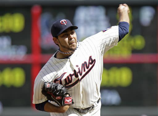 Twins' Pedro Hernandez gets first major league win