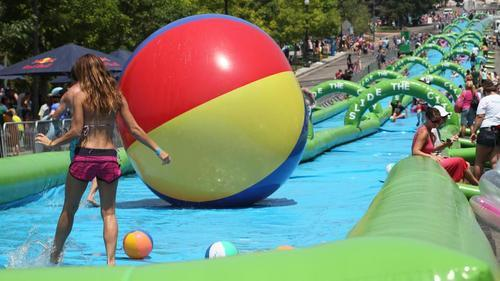 Wee!: Could Boston Get a Three-Lane, 1,000-Foot Water Slide?