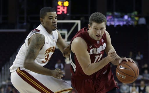 USC wins Pac-12 opener 71-69 over Stanford