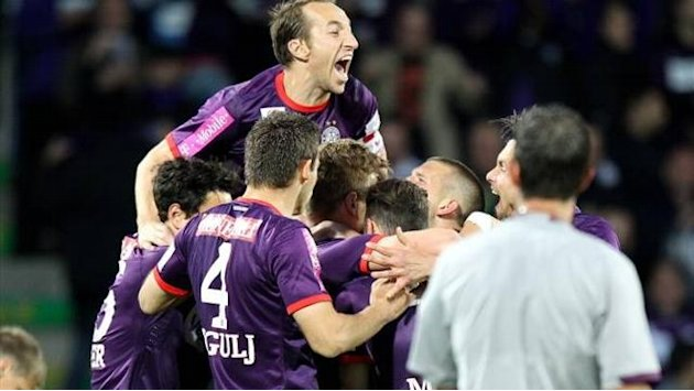 European Football - Austria Vienna win first league title for seven years