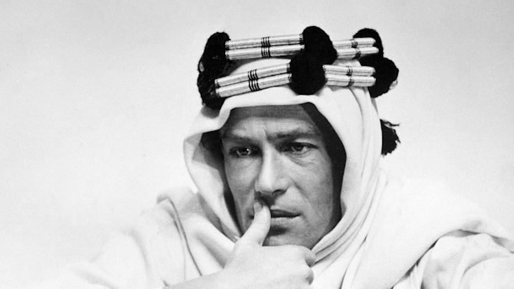 "FILE - In this 1961 file photo, actor Peter O'Toole is shown in the title role in the film ""Lawrence of Arabia."" (AP Photo/Columbia Pictures, file)"