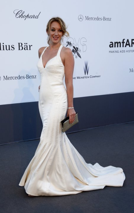 Actress Sagnier arrives for amfAR's Cinema Against AIDS 2013 event in Antibes during the 66th Cannes Film Festival