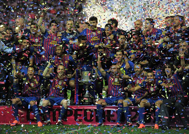 Barcelona's Players AFP/Getty Images