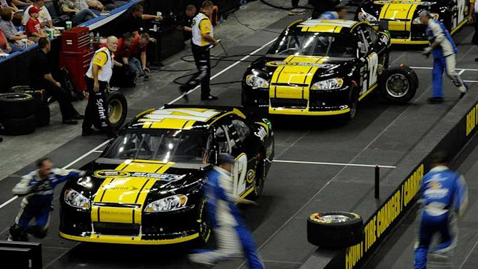 Pit crew challenge not scheduled for 2013