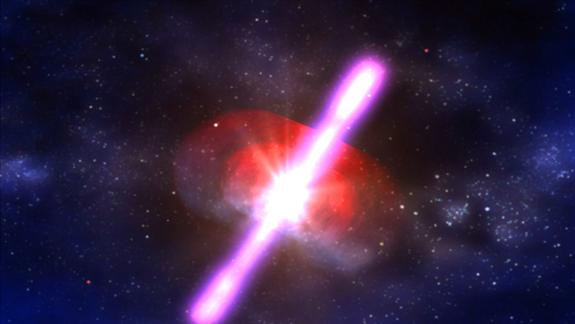 Space Bursts Provide Insight to Theory of Everything
