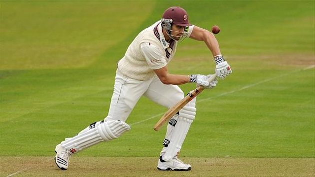 Nick Compton returned to form at Taunton