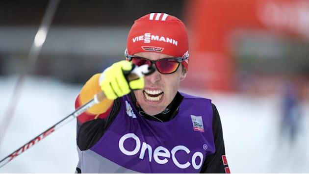 Nordic Combined - Rydzek keeps Germany's run going with second World Cup win in a row