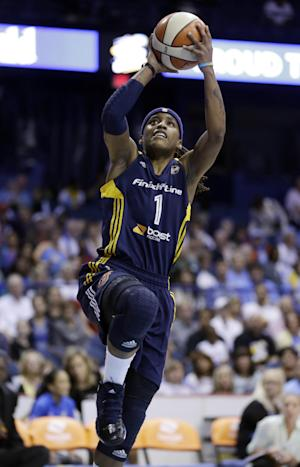 Zellous leads Fever past Sky in East series opener