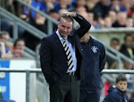Ally McCoist has been hit with a suspended three-match touchline ban