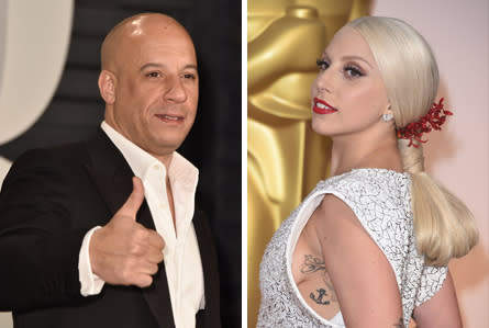 Why Lady Gaga And Vin Diesel Should Be In Every Movie And TV Show