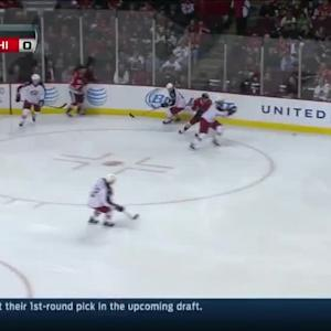 Columbus Blue Jackets at Chicago Blackhawks - 03/06/2014
