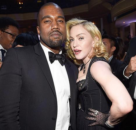"Madonna Has Some Advice for Kanye West: ""Don't Go to Awards Shows Looking for Justice"""