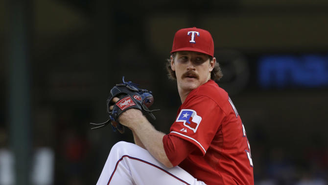 Weaver, Angels hand Texas 7th loss in row