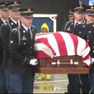 Raw Video: Remains Of Korean War POW Returned To NH