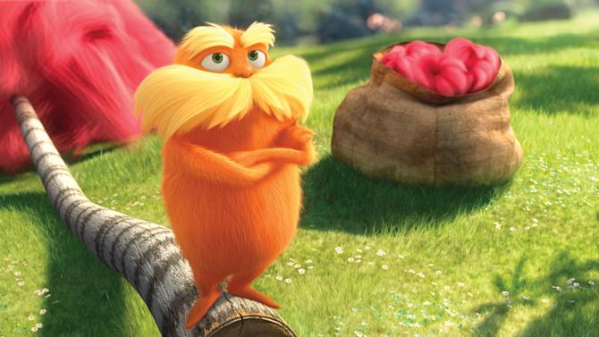 'Lorax' trumps 'John Carter' with $39.1M weekend