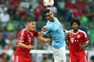 Bayern Munich 2-1 Manchester City: Negredo's strike overturned by Muller and Mandzukic
