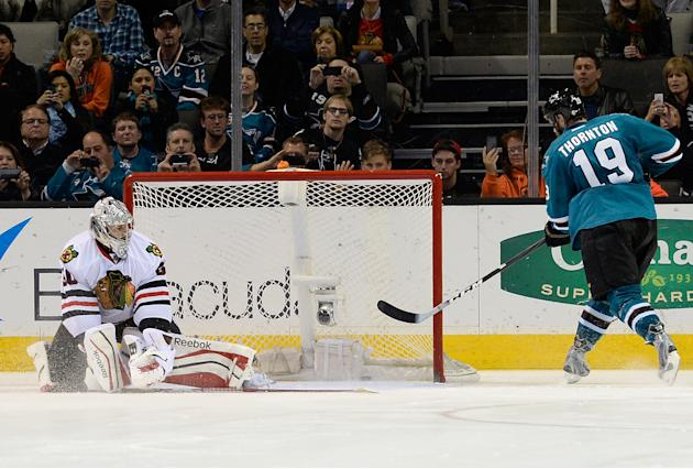 Chicago Blackhawks v San Jose Sharks