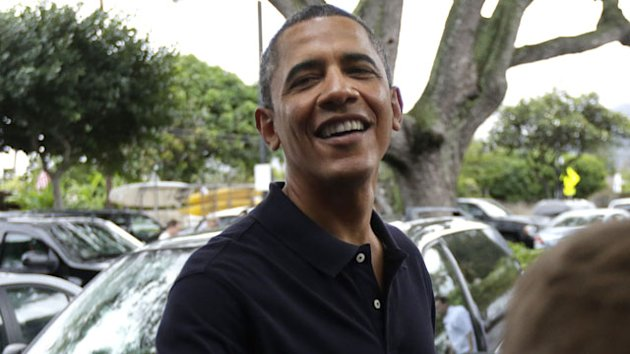 Obama's Dad-Daughter Day in Hawaii (ABC News)