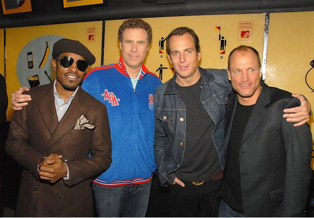 Will Ferrell 2008 Andre Benjamin Will Arnett Woody Harrelson