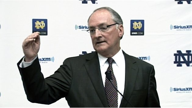 Notre Dame athletic director: …