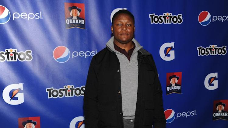 IMAGE DISTRIBUTED FOR PepisCo - Former NFL player Barry Sanders attends the PepsiCo Pre-Super Bowl Party, at Masquerade Night Club, on Friday, Feb. 1, 2013 in New Orleans. (Photo by Evan Agostini/Invision for PepsiCo/AP Images)