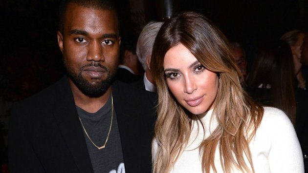 See Kim Kardashian's Naked Gift From Fiancé Kanye West (ABC News)