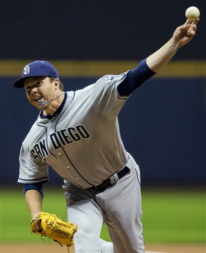 Headley drives in 2 more runs, Padres beat Brewers