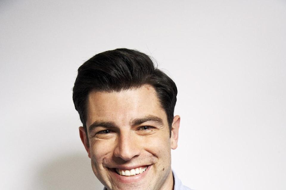 "FILE - This Jan. 29, 2013 photo shows actor Max Greenfield from the Fox comedy series ""New Girl,"" in New York. Greenfield, who's been nominated for an..."