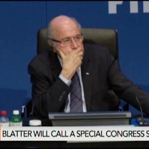Blatter to Step Down as FIFA Scandal Widens