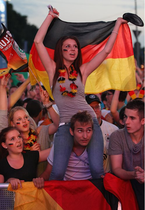 Germany v Italy - Public Viewing: …