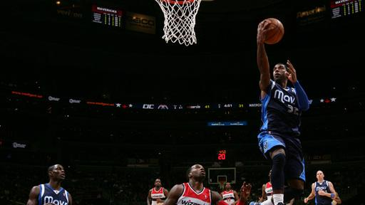 Mavericks break 6-game skid 103-94 over Wizards