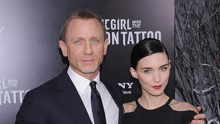 The Girl with the Dragon Tattoo NY Premiere daniel Craig Rooney Mara