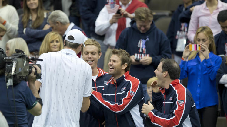 TENNIS: Davis Cup-Isner vs Alves