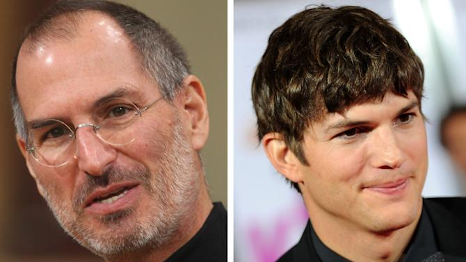 FILE PHOTO: Ashton Kutcher In Talks To Play Steve Jobs In Biopic Role