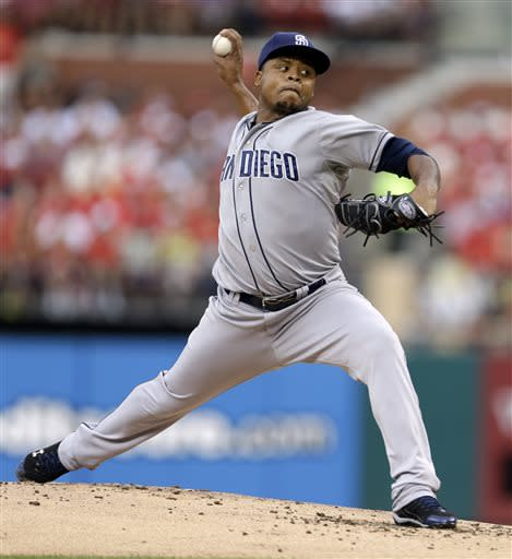 Padres relievers lead 5-3 win over Cardinals