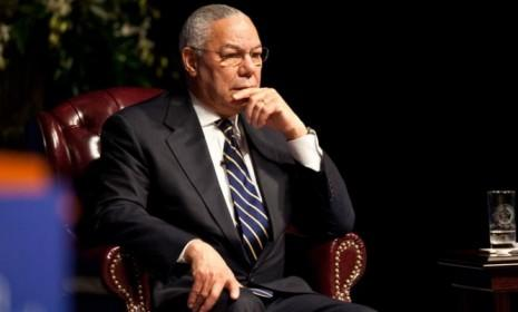 Colin Powell at an event marking the 20th anniversary of the Persian Gulf War in 2011: The former Secretary of State officially backed President Obama on Oct. 25.