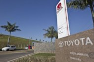 View of the Toyota plant in Indaiatuba, Brazil. Japan&#39;s Toyota, the world&#39;s biggest carmaker, on inaugurated a $600 million plant in the southeastern state of Sao Paulo, its third in Brazil, with the aim of producing 70,000 cars a year initially